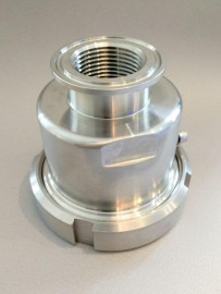 Triclamp Shroud for 5.5Kw Element
