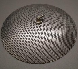 "12"" Domed false bottom"