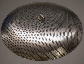 "15"" Domed False bottom"