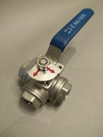 3 Way Ball valve - L port