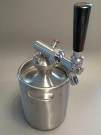 Growler Dispensing Cap - Faucet